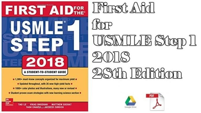 First Aid for USMLE Step 1 2018, 28th Edition Download PDF Free