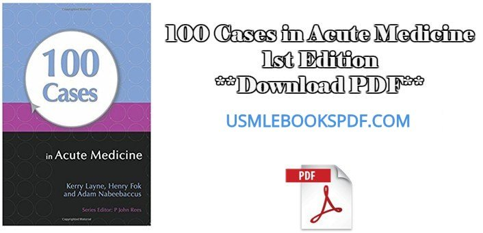 100 cases in acute medicine pdf free download