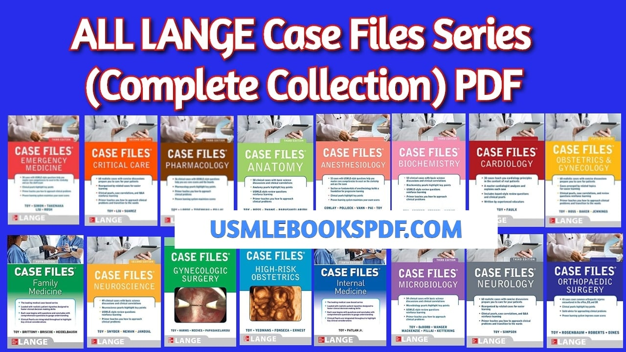 ALL LANGE Case Files Series Complete Collection PDF 8 Free ...